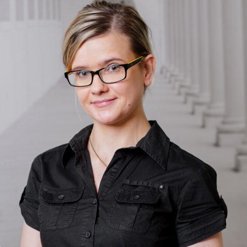 Portret Agnieszka Stepuch projektant wnętrz Lublin