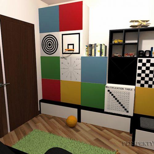 Perspektywa Studio-Projekt pokoju-Colour cubik 1