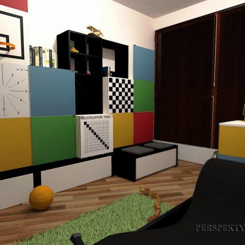 Perspektywa Studio-Projekt pokoju-Colour cubik 2