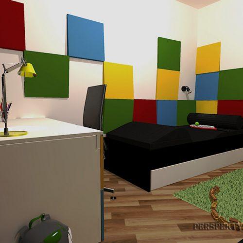 Perspektywa Studio-Projekt pokoju-Colour cubik 4
