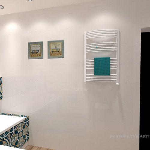projekt-łazienki-projektowanie-wnętrz-lublin-perspektywa-studio-łazienka-biała-ozdobny-dekor-6m2-wanna-w-zabudowie-okno-Rozeta-7