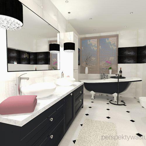 projekt-łazienki-projektowanie-wnętrz-lublin-perspektywa-studio-łazienka-czrno-biała-wanno-wolnostojąca-prysznic-bez-brodzika-pralka-i-suszarka-zień-Queensway-1