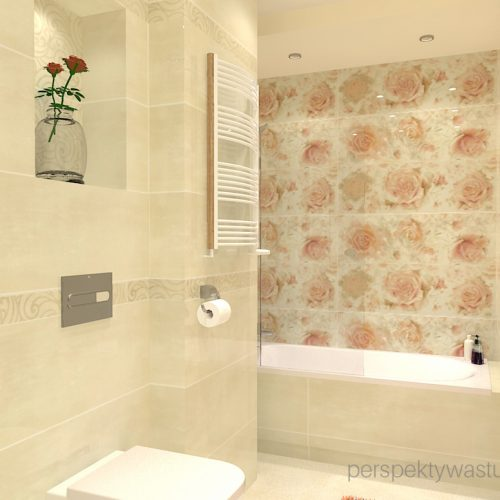 projekt-łazienki-projektowanie-wnętrz-lublin-perspektywa-studio-łazienka-klasyczna-w-kamienicy-motywy-kwiatowe-Mistere-bianco-1