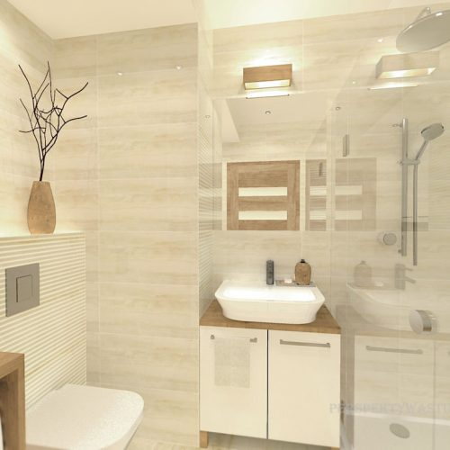 projekt-łazienki-projektowanie-wnętrz-lublin-perspektywa-studio-łazienka-nowoczesna-beże-4m2-kabina-płytki-brodzik-Onice-1