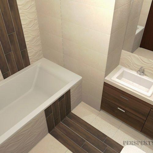 projekt-łazienki-projektowanie-wnętrz-lublin-perspektywa-studio-łazienka-nowoczesna-beże-brązy-6m2-wanna-w-zabudowie-kabina-z-brodzikiem-Danubio-1