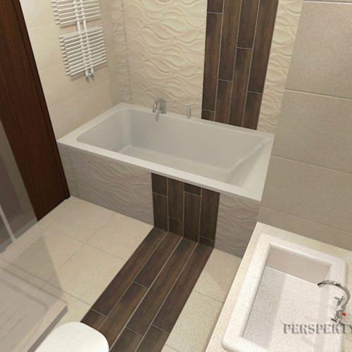 projekt-łazienki-projektowanie-wnętrz-lublin-perspektywa-studio-łazienka-nowoczesna-beże-brązy-6m2-wanna-w-zabudowie-kabina-z-brodzikiem-Danubio-5