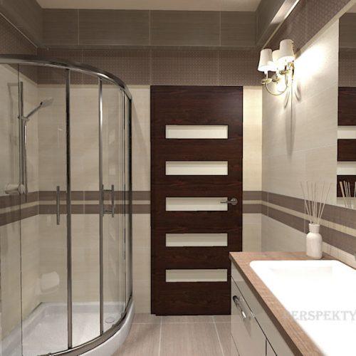 projekt-łazienki-projektowanie-wnętrz-lublin-perspektywa-studio-łazienka-nowoczesna-beże-brązy-kabina-narożna-okno-Meisha-Brown-5