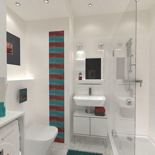 projekt-łazienki-projektowanie-wnętrz-lublin-perspektywa-studio-łazienka-nowoczesna-biała-kolorowy-dekor-4m2-płytki-brodzik-Vivida-1