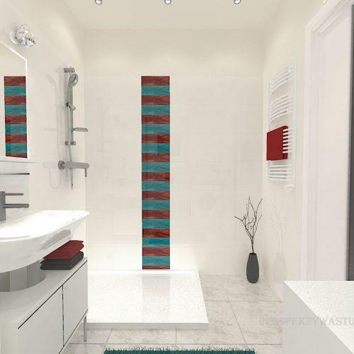 projekt-łazienki-projektowanie-wnętrz-lublin-perspektywa-studio-łazienka-nowoczesna-biała-kolorowy-dekor-4m2-płytki-brodzik-Vivida-5