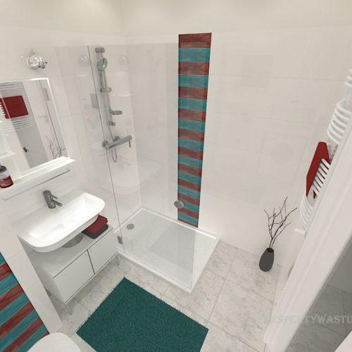 projekt-łazienki-projektowanie-wnętrz-lublin-perspektywa-studio-łazienka-nowoczesna-biała-kolorowy-dekor-4m2-płytki-brodzik-Vivida-6