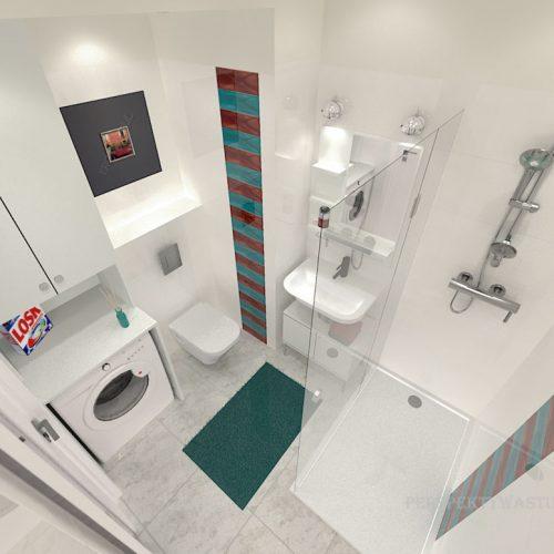 projekt-łazienki-projektowanie-wnętrz-lublin-perspektywa-studio-łazienka-nowoczesna-biała-kolorowy-dekor-4m2-płytki-brodzik-Vivida-7