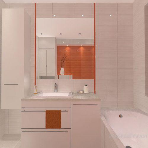 projekt-łazienki-projektowanie-wnętrz-lublin-perspektywa-studio-łazienka-nowoczesna-biała-pomarańczowa-5m2-wanna-w-zabudowie-okno-Orange-4