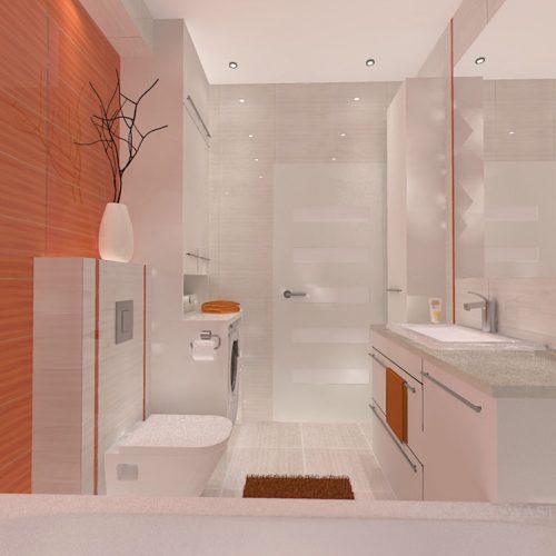 projekt-łazienki-projektowanie-wnętrz-lublin-perspektywa-studio-łazienka-nowoczesna-biała-pomarańczowa-5m2-wanna-w-zabudowie-okno-Orange-5