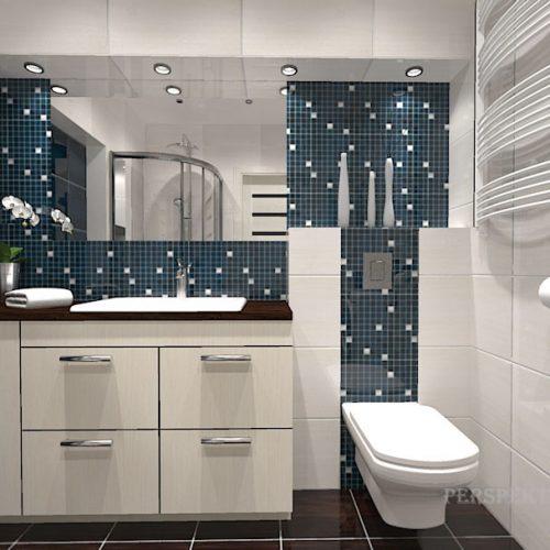 projekt-łazienki-projektowanie-wnętrz-lublin-perspektywa-studio-łazienka-nowoczesna-biały-brąz-granat-4m2-kabina-narożna-Vicenca-w-odsłonach-3