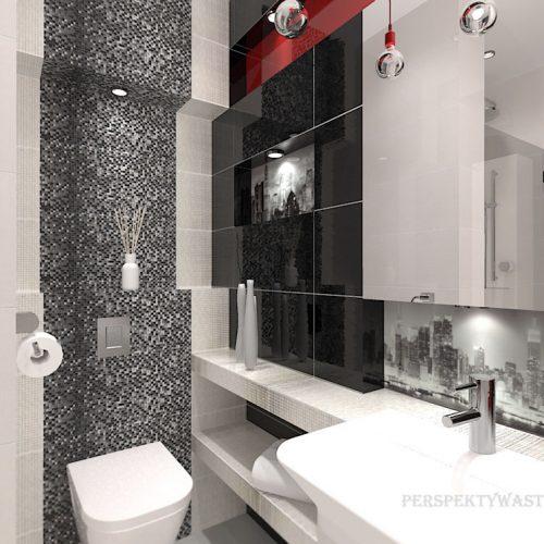 projekt-łazienki-projektowanie-wnętrz-lublin-perspektywa-studio-łazienka-nowoczesna-biały-czarny-czerwony-4m2-kabina-bez-brodzika-Vampa-4