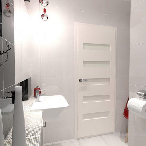 projekt-łazienki-projektowanie-wnętrz-lublin-perspektywa-studio-łazienka-nowoczesna-biały-czarny-czerwony-4m2-kabina-bez-brodzika-Vampa-6