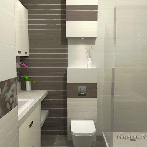 projekt-łazienki-projektowanie-wnętrz-lublin-perspektywa-studio-łazienka-nowoczesna-biel-brąz-6m2-wanna-w-zabudowie-kabina-z-brodzikiem-Pamesa-3