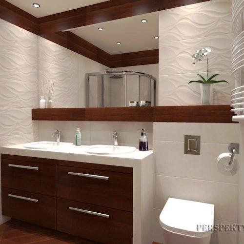 projekt-łazienki-projektowanie-wnętrz-lublin-perspektywa-studio-łazienka-nowoczesna-biel-drewno-5m2-dwie-umywalki-kabina-narożna-Rovere-1