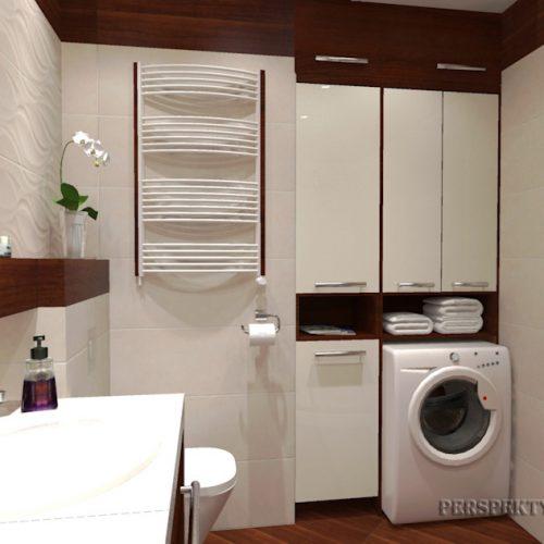 projekt-łazienki-projektowanie-wnętrz-lublin-perspektywa-studio-łazienka-nowoczesna-biel-drewno-5m2-dwie-umywalki-kabina-narożna-Rovere-2