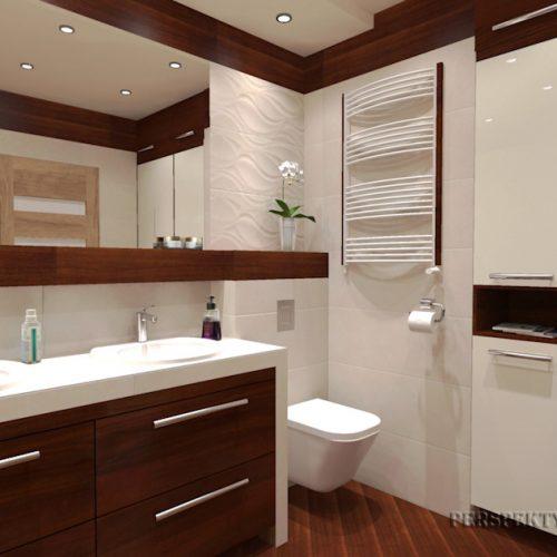 projekt-łazienki-projektowanie-wnętrz-lublin-perspektywa-studio-łazienka-nowoczesna-biel-drewno-5m2-dwie-umywalki-kabina-narożna-Rovere-3