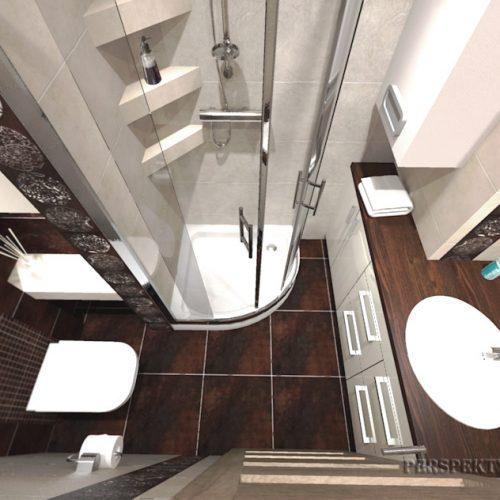 projekt-łazienki-projektowanie-wnętrz-lublin-perspektywa-studio-łazienka-nowoczesna-brązy-dekory-3m2-kabina-narożna-Floralstone-4