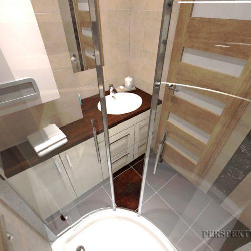 projekt-łazienki-projektowanie-wnętrz-lublin-perspektywa-studio-łazienka-nowoczesna-brązy-dekory-3m2-kabina-narożna-Floralstone-6