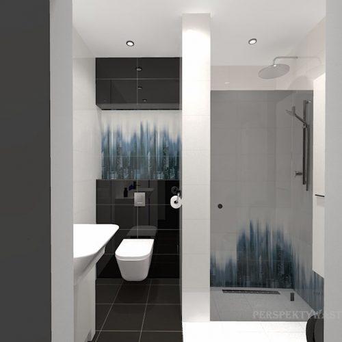 projekt-łazienki-projektowanie-wnętrz-lublin-perspektywa-studio-łazienka-nowoczesna-czarna-biała-dekor-4m2-prysznic-bez-brodzika-Sky-Tower-1