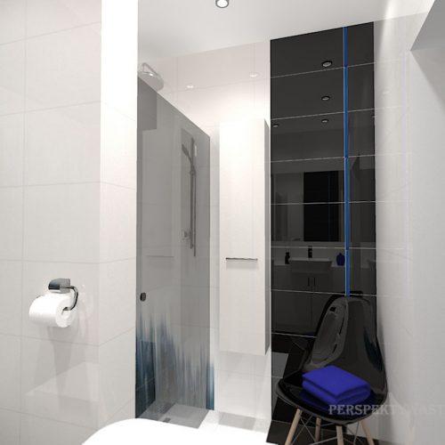 projekt-łazienki-projektowanie-wnętrz-lublin-perspektywa-studio-łazienka-nowoczesna-czarna-biała-dekor-4m2-prysznic-bez-brodzika-Sky-Tower-3