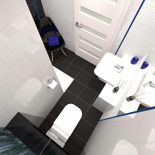projekt-łazienki-projektowanie-wnętrz-lublin-perspektywa-studio-łazienka-nowoczesna-czarna-biała-dekor-4m2-prysznic-bez-brodzika-Sky-Tower-8