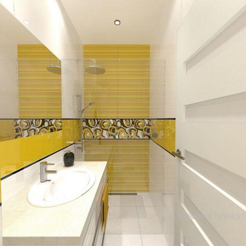 projekt-łazienki-projektowanie-wnętrz-lublin-perspektywa-studio-łazienka-nowoczesna-jasna-żółte-akcenty-4m2-prysznic-bez-brodzika-Mała-Yellow-1