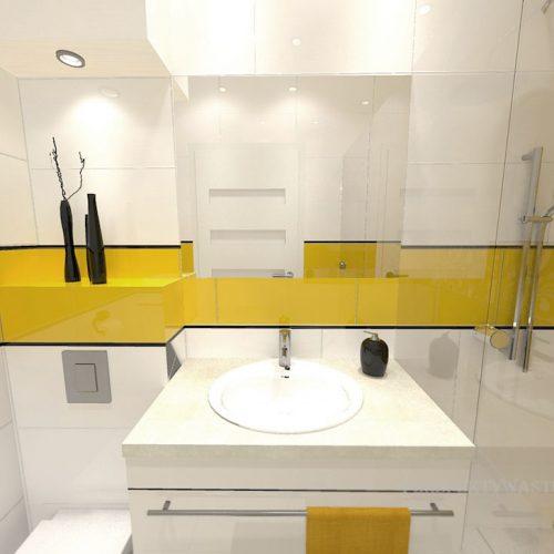 projekt-łazienki-projektowanie-wnętrz-lublin-perspektywa-studio-łazienka-nowoczesna-jasna-żółte-akcenty-4m2-prysznic-bez-brodzika-Mała-Yellow-2