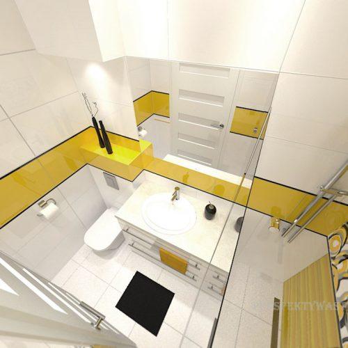 projekt-łazienki-projektowanie-wnętrz-lublin-perspektywa-studio-łazienka-nowoczesna-jasna-żółte-akcenty-4m2-prysznic-bez-brodzika-Mała-Yellow-3