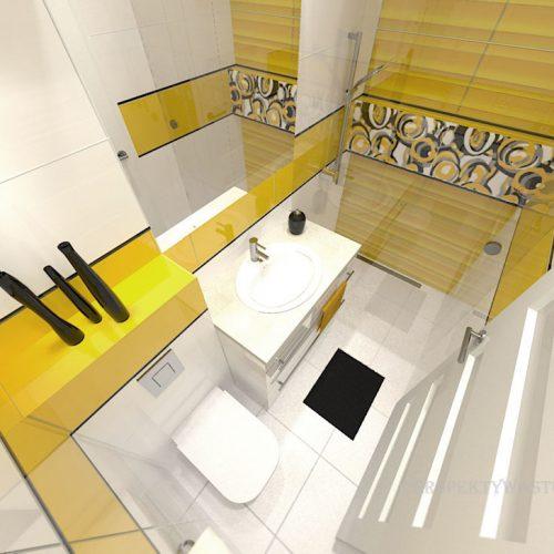 projekt-łazienki-projektowanie-wnętrz-lublin-perspektywa-studio-łazienka-nowoczesna-jasna-żółte-akcenty-4m2-prysznic-bez-brodzika-Mała-Yellow-6