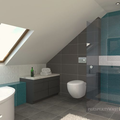 projekt-łazienki-projektowanie-wnętrz-lublin-perspektywa-studio-łazienka-nowoczesna-poddasze-szarości-błękit-10m2-wanna-narożna-okna-Lagoon-56