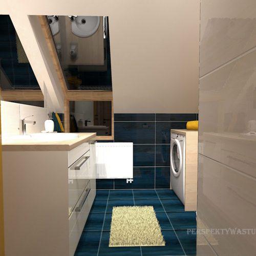 projekt-łazienki-projektowanie-wnętrz-lublin-perspektywa-studio-łazienka-nowoczesna-poddasze-żółty-granatowy-mała-toaleta-4m2-Vicenza-Yellow-40