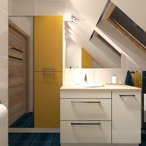 projekt-łazienki-projektowanie-wnętrz-lublin-perspektywa-studio-łazienka-nowoczesna-poddasze-żółty-granatowy-mała-toaleta-4m2-Vicenza-Yellow-41
