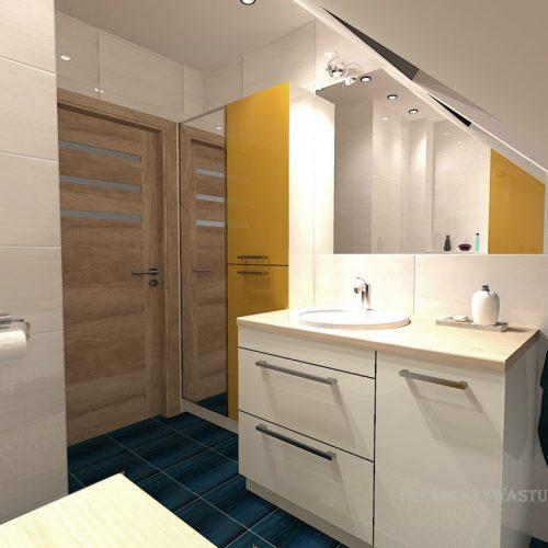 projekt-łazienki-projektowanie-wnętrz-lublin-perspektywa-studio-łazienka-nowoczesna-poddasze-żółty-granatowy-mała-toaleta-4m2-Vicenza-Yellow-42