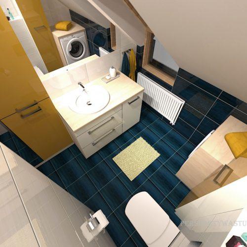 projekt-łazienki-projektowanie-wnętrz-lublin-perspektywa-studio-łazienka-nowoczesna-poddasze-żółty-granatowy-mała-toaleta-4m2-Vicenza-Yellow-44
