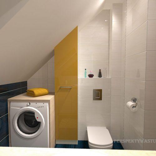 projekt-łazienki-projektowanie-wnętrz-lublin-perspektywa-studio-łazienka-nowoczesna-poddasze-żółty-granatowy-mała-toaleta-4m2-Vicenza-Yellow-45