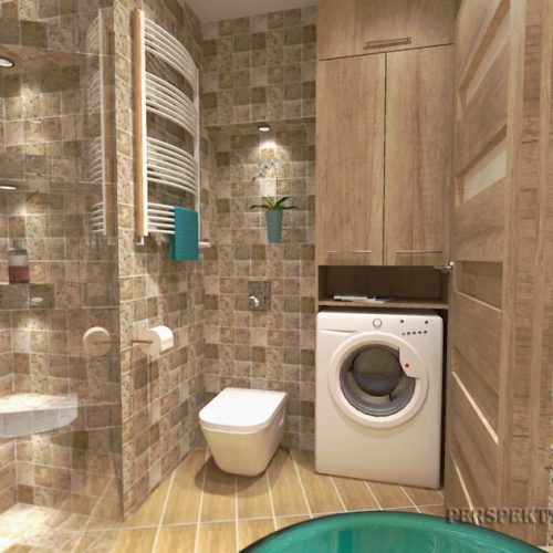 projekt-łazienki-projektowanie-wnętrz-lublin-perspektywa-studio-łazienka-nowoczesna-trawertyn-4m2-bez-brodzika-umywalka-stawiana-na-blat-Trawertyn-10