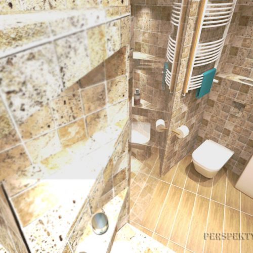 projekt-łazienki-projektowanie-wnętrz-lublin-perspektywa-studio-łazienka-nowoczesna-trawertyn-4m2-bez-brodzika-umywalka-stawiana-na-blat-Trawertyn-7