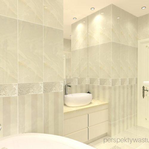 projekt-łazienki-projektowanie-wnętrz-lublin-perspektywa-studio-łazienka-styl-klasyczny-4-m2-wanna-asymetryczna-umywalka-stawiana-na-blat-Onice-bianco-2