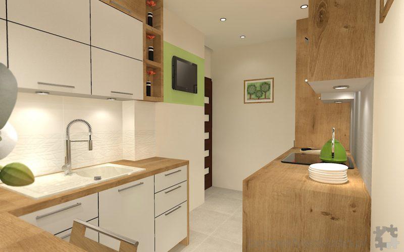 projekt-kuchni-projektowanie-wnętrz-lublin-perspektywa-studio-kuchnia-mała-7m2-z-mijscem-do-jedzenia-tv-w-kuchni-Kwiat-paproci-7