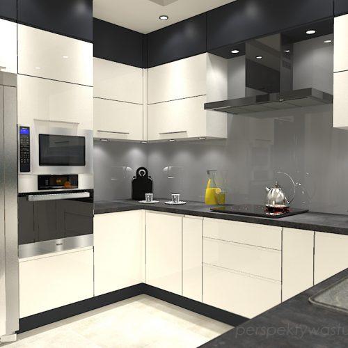 projekt-kuchni-projektowanie-wnętrz-lublin-perspektywa-studio-kuchnia-minimalistyczna-nowoczesna-fronty-bez-uchwytów-W-czarnej-obwódce-1