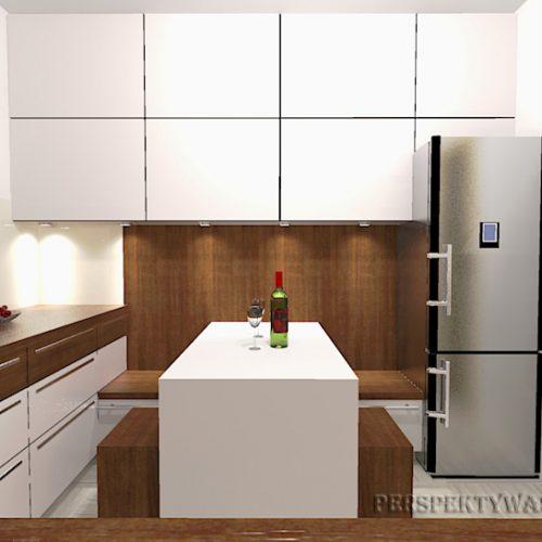 projekt-kuchni-projektowanie-wnętrz-lublin-perspektywa-studio-kuchnia-nowoczesna-białe-fronty-lakierowane-i-drewno-Kasztanowa-aleja-4