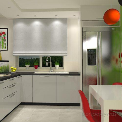 projekt-kuchni-projektowanie-wnętrz-lublin-perspektywa-studio-kuchnia-nowoczesna-lodówka-side-by-side-barek-wysoki-piekarnik-Makowa-panienka-2