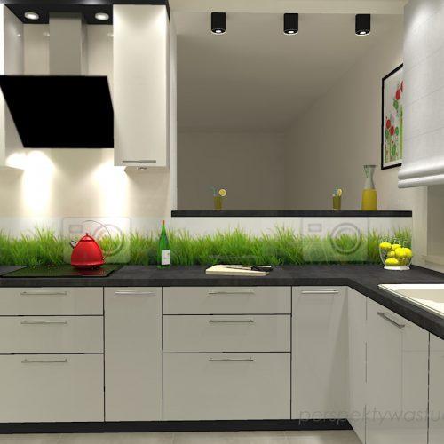 projekt-kuchni-projektowanie-wnętrz-lublin-perspektywa-studio-kuchnia-nowoczesna-lodówka-side-by-side-barek-wysoki-piekarnik-Makowa-panienka-3