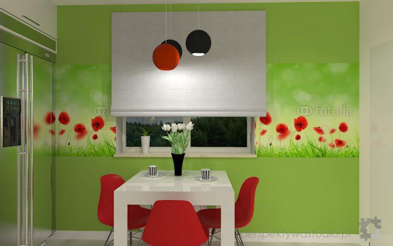 projekt-kuchni-projektowanie-wnętrz-lublin-perspektywa-studio-kuchnia-nowoczesna-lodówka-side-by-side-barek-wysoki-piekarnik-Makowa-panienka-6