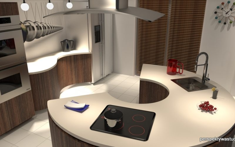 projekt-kuchni-projektowanie-wnętrz-lublin-perspektywa-studio-kuchnia-nowoczesna-wyspa-fronty-gięte-Kuchnia-Newtona-1