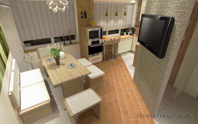 projekt-kuchni-projektowanie-wnętrz-lublin-perspektywa-studio-kuchnia-nowoczesna-z-jadalnią-okno-zlewozmywak-narożny-Mglisty-las-1